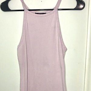 Forever21 Lavender Halter Mini Dress